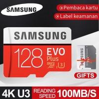 Samsung Kartu Memori TF Class10 Kapasitas 128GB Memory Card Micro SD