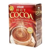 MINUMAN COKLAT INSTAN 3 IN 1 DELFI HOT COCOA CHOCOLATE 125 GR
