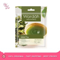 Wardah Nature Daily Sheet Mask Green Tea Masker Wajah [20 mL]