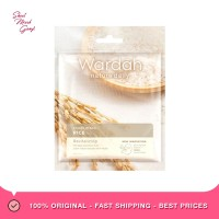 Wardah Nature Daily Sheet Mask Rice Masker Wajah [20 mL]