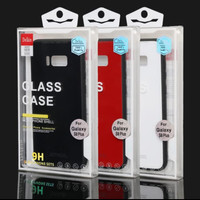DELKIN GLASS CASE/ BACK COVER TEMPERED GLASS 9H