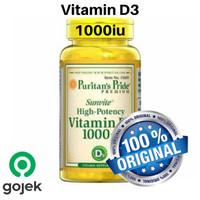 Promo!! Vitamin D3 1000iu, Original Puritan Pride Vitamin D 3 1000iu