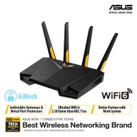 ASUS TUF AX3000 Dual Band WiFi 6 Gaming Router with AiMesh