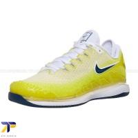 Sepatu Tenis Wanita Nike Air Zoom Vapor X Knit Yellow/Blue