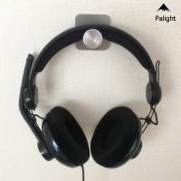 PA• Headphone Hanger Wall Mount Gaming Headset Holder Metal