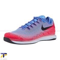 Sepatu Tenis Wanita Nike Air Zoom Vapor X Knit Blue/Black/Crim