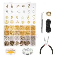 Set 24 Grid Alat Membuat Perhiasan Anting Kalung Gelang Handmade Diy