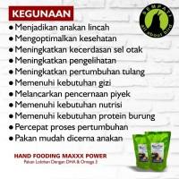 PAKAN BURUNG LOVEBIRD KENARI PARKIT LOLOHAN HAND FEEDING MAXXX POWER 2