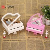 Kotak Musik Model Romantis Piano Ballerina Dancing Ballerina