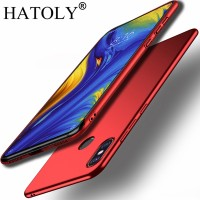 For Smooth Cover Xiaomi Mi Mix 3 Case Xiomi Mix 3 Ultra-thin Hard PC