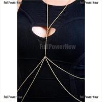 Women Sexy Fashion Gold Body Belly Waist Chain Bikini Beach Harness