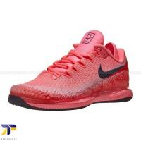 Sepatu Tenis Wanita Nike Air Zoom Vapor X Knit Laser Crmson