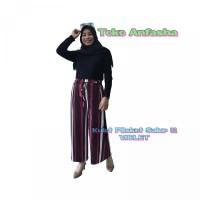 KULOT PLISKET SALUR 02 Celana panjang wanita kulot premium basic pants