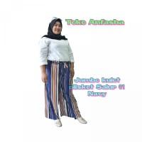 KULOT PLISKET SALUR 01 JUMBO Celana panjang kulot wanita premium basic