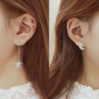 Earrings Promo!!! Prevent Allergy Romantic Women Lady Girls Zirconia