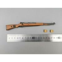 1/6 Scale 98K Plastic Wood Rifle Gun Model Weapon Toys Fit 12''