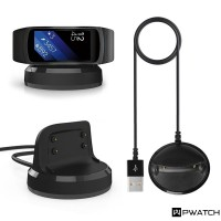 Charger USB 2 Slot R360 untuk Samsung Gear fit2 Pro sm-r360