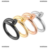 ❤ OZID ❤ Fashion Cartier Nail Finger Ring Women Engagement Ring