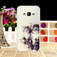 Phone Cover For Samsung Galaxy J1 Mini Prime J106F DS Silicone TPU TG