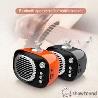 Speaker Wireless Bluetooth FM Radio Old Gaya Retro Vintage Klasik