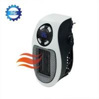 EU Plug 500W Electric Heater Mini Fan Heater Desktop Household