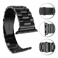 For iWatch Apple Watch Series 38mm 42mm Stainless Steel Band Strap