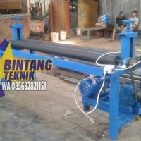 mesin roll plat stanlis max 3mm limited stock