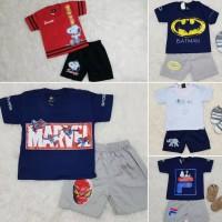 Baju Setelan Anak Bayi Lakilaki Setelan Celana Baju Kaos Karakter