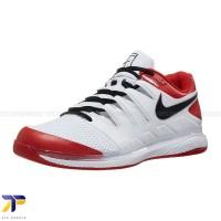Sepatu Tenis Nike Air Zoom Vapor X White/Black/Red