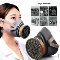 Survival Masker respiratory Pelindung Mulut Anti Debu untuk Darurat