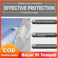 Transparan Monking Masker Pelindung Wajah Anti Debu Model