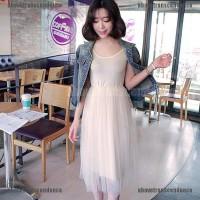 Jaket Denim Wanita Model Slim Longgar Versi Korea Ada Ukuran Besar
