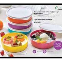 Tempat Makan Tupperware - Lunch Box - Large Handy Bowl 5Pcs