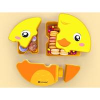 Tempat Makan Lunch Box Set Puzzle Technoplast Original