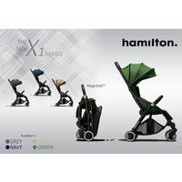 Sttroller Hamilton X1 Magicfold stroller - Khaki