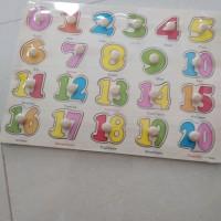 Puzzle Knob Wooden Puzzle