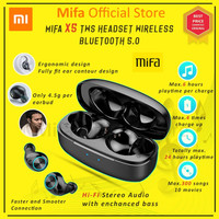Mifa X5 Xiaomi Tws Earbud Wireless Bluetooth 5.0 Earphone Headset