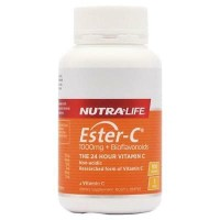 NutraLife Ester C 1000 mg +Bioflavonoids 100 Tablets