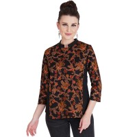 Blouse Atasan Batik Wanita Rianty Cavia Batik Katun Premium