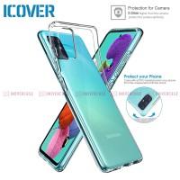 Case Samsung Galaxy A71 / A51 iCover Air Crystal Casing Cover Original
