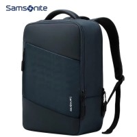 Tas Laptop Backpack Ransel Samsonite 14 - 15.6 inch - blue