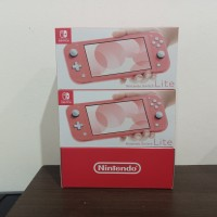 NINTENDO SWITCH LITE CONSOLE 3 WARNA CORAL PINK
