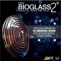 MCI Bioglass 2+ 1 paket (dapet senter + karet pelindung) BARU