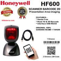 HONEYWELL HF600 USB Scanner Barcode 2D Presentation Area Imaging Scan