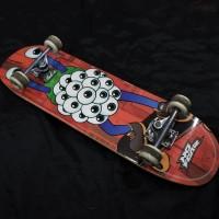 Skateboard Fullset Original Preloved No Fear