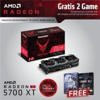 VGA Powercolor RX5700XT 8GB DDR6 Red Devil RX 5700 RX5700