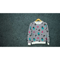 Atasan Baju Kaos Lengan Panjang Wanita / Kualitas Premium - Import
