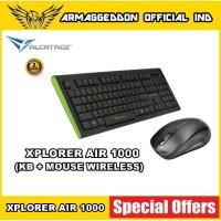 ALCATROZ Xplorer Air 1000 Wireless Combo Keyboard Mouse