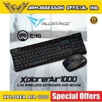 Alcatroz Xplorer Air 1000- Wireless Keyboard & Mouse