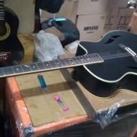 gitar akustik elektrik cort new s